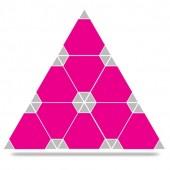 Nine Piece Triangle Puzzle DMX Nine Piece Triangle Puzzle DMX RDM Master Controller