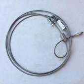 新款304不锈钢3毫米2.5米带锁头