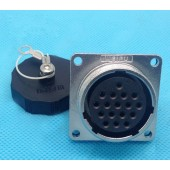 Original WEIPU Connctor WS28 2 3 4 7 10 12 16 17 20 24 26 Pin Connector Z Square Flange Panel Mount Female socket connector