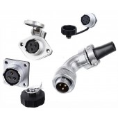 Original Weipu Connector WS20 TS + ZG ZM Z Socket 2 3 4 5 6 7 9 12 Pin Angled Male Sleeve Cable Plug aviation Female socket