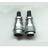 Original Weipu Connector WS24 TQ + ZQ 2 3 4 9 10 12 19 Pin TQ Sleeve Cable Plug ZQ In-line Sleeve Cable Socket
