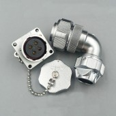 Original Weipu Connector WY16 TU + Z 2 3 4 5 7 9 10 Pin TU Male Angled Clamp Cable Plug Female Square Flange Panel Mount Socket