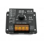 Skydance V1-K 1-Kanal Drehdimmer 20A einstellbare PWM Frequenz