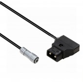 PORTKEYS BM5 Monitor Power Cable,Anton Bauer Power D-TAP to XS6 4 pin female connector Right angle Power Cable For PORTKEYS BM5