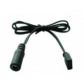 5050 Single Color Led Strip Lights PVC Connect Power Cables 60CM 10 Pcs