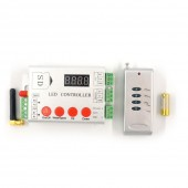 DC12-24V LED RF Pixel Controller SD Card Controller+ Remote Control