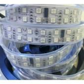 5m 120leds/m TM1812 IC 5050 RGB led Strip 12V 600leds Double Row Digital Dream Color Led Pixels