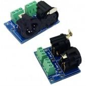 XLR5-3P DMX512 Relays Connector 3pin Terminal Adapter