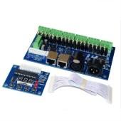 18CH 3A/Ch DMX512 With RJ45 Easy DMX LED Decoder Controller