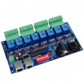 8CH Relay Switch Dmx512 Controller Relay WS-DMX-RELAY-8CH