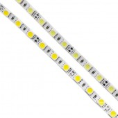 DC 12V 5mm PCB Led Strip Lights NEW Non-waterproof SMD 5050 420leds 5M White Fita Ribbon Tape Lamp Cut Each 3 Leds