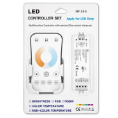 Skydance Led Controller 5A*2CH Color Temperature LED Controller Set V2 + R7-1