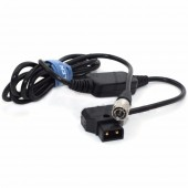 12V D-TAP To Hirose 4pin For Sound Devices 688 Power Cable , Zoom F8/f4 Power Cable , Adjust The Voltage To 12V