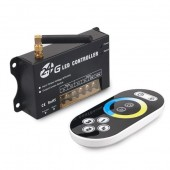 RF202 2.4G RF Wireless Color Temperature Touch Remote Controller 5-24V