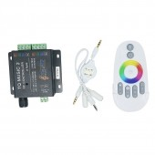 DC 12V 24V RGB LED Controller RF Music Audio Control 18A 3 Channel TQ Music 2 For SMD 3528 5050 5630 LED Strip Light