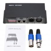RGBW 4CH DMX 512 Decoder Led Strip Controller DC 5V 12V 24V DMX To PWM RGBW Light 4 Channel*4A 16A DMX512 Decoder Dimmer