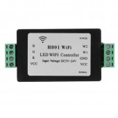 RGBW LED WIFI Controller H801 DC5-24V Input 5CH*4A Output For RGB RGBW Led Strip Light Tape Ribbon