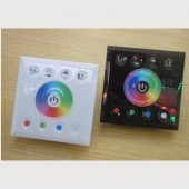 RGBW Touch Panel LED Controller Wall-Mounted DC12V/24V 16A