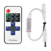 RF Mini Wireless Remote Controller with DC Connector
