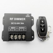 DC12-24V 30A Single Channel LED Dimmer Controller With Wirelss RF Remote Control