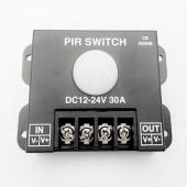 30A Human body 12V-24V PIR Switch Controller Sensor Induction LED Dimmer