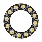 7 Bits LEDs SK6812 WS2812B 5050 RGB+White LED Ring Light Integrated Module 5V 2Pcs