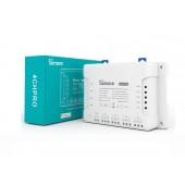 Sonoff 4CHPROR3 4 Gang RF Smart Switch Support Interlock Self-locking Inching Via EWeLink APP Alexa