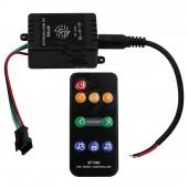 SP106E 9Key LED Colorful Music Controller DC 5V-DC 12V For WS2811 WS2812B UCS1903 SK6812 APA106 LED Strip RGB Pixel Lights