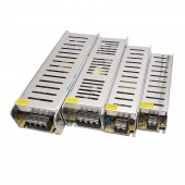 Super Slim Version 12V Switch Power Supply AC110-220V to DC 60W 100W 150W 200W 300W Constant Voltage Lighting Transformers