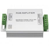 DC12-24V 12A RGB Amplifier Controller For 3528 5050 RGB LED Strip Module Light