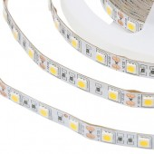 Golden Yellow 5M/Lot 60led/M None 12V SMD 5050 LED Strip Light Holiday Home Lighting