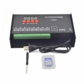 T8000 AC Led Pixel Module Controller Up to 128MB -2GB SD Card T-8000