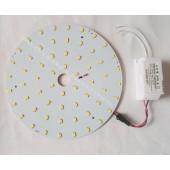 Round Surface Mounted 20W 30W 40W LED circular tube LED panel PCB disc LED warm white cool white 220V 230V 240V
