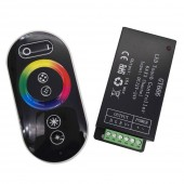 Touch Panel RGB Led Controller GT666 DC12-24V 6Ax3channel Controller For RGB Led Strip Led Light lamp