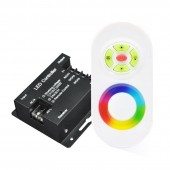 AC110/220V 2A*3CH 1000W RGB LED Strip Light Touch Remote Controller