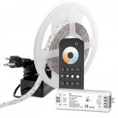 DC24V White LED Strip Light Kit Color Temperature Changing LED Tape Light 511 Lumens/ft For Show Lighting Retail Lighting