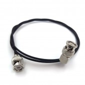 Ultra-soft SDI video signal cable, camera monitor SDI line, BNC Straight plug to BNC plugs elbow, SDI pigtail. RF coaxial cable