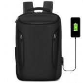 Waterproof Backpack Laptop Bag 17.3 for Macbook Pro 13 Air 15 Case Mochila Laptop Sleeve Funda Portatil with USB Charger Port