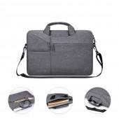 "Waterproof Women Men Laptop Bag 13.3 15.4"" Case for Macbook Air 13 15 14 15.6 Bag for Macbook Pro 15 touch bar Sleeve with Belt"