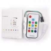 Wireless RF SP103E Digital WS2811 WS2812 WS2812B LED Controller 5-12V 2048 Pixels