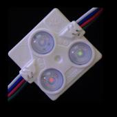 WS2811 injection LED module light SMD 5050 RGB 3 led ABS 20pcs