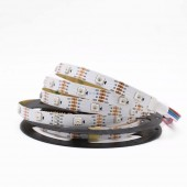WS2815 LED Pixels Strip Light Tape Individually Addressable DC12V WS2813 update LED Dual-Signal 5m 30 leds