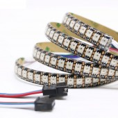 WS2815 LED Pixels Strip Light Tape Individually Addressable DC12V WS2813 update LED Dual-Signal 1m 144 leds