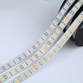 DC24V 12V 120LED/M SMD 5050 RGB LED Strip Double Row Flexible ribbon 600 LEDS Tape Light 5M