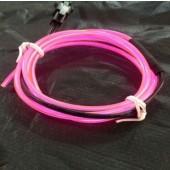 3m/5m 12V Flexible Led EL Wire Glow Rope Tube Cable + Car Inverter Cigarette Lighter Plug Decoration Lights